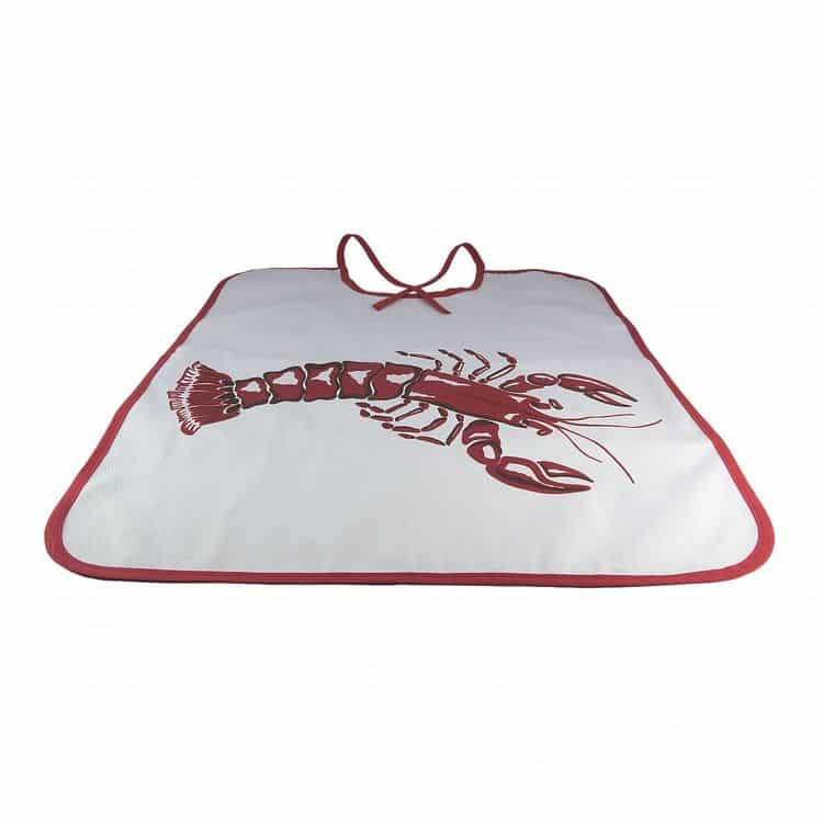 bavoir adulte homard